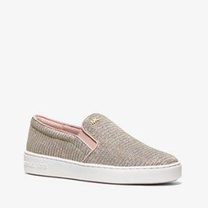 Michael Kors Keaton Chain Mesh Slip-on Sneaker